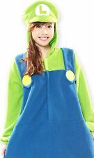 Sazac Super Mario Bros. Luigi costume unisex Kigurumi Halloween From Japan NEW