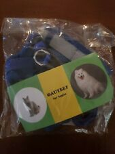 GAUTERF Dog and Cat Universal Harness with Leash Set, Escape Proof Cat Harnesses