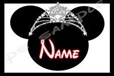 4x6 Disney Cruise Stateroom Door Magnet - TIARA # 2 - Personalized