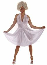 HOLLYWOOD MOVIE STAR MARILYN LADY COSTUME HALLOWEEN REDUCED TO CLEAR FREE UK P+P