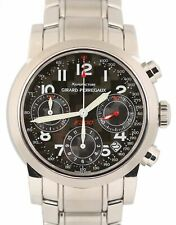 Girard Perregaux Ferrari Chronograph 8020 38mm Black Stainless Steel F300 Watch