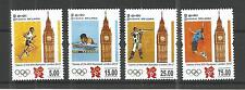 SRI LANKA 2012 OLYMPIC GAMES SG,2155-2158 U/MM NH LOT 643A