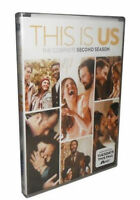 THIS IS US THE COMPLETE SECOND SEASON 2, DVD, 2018, (5-Disc Set)