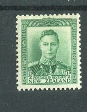 New Zealand KGVI 1938-44 halfpence green SG603 MH