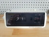 Sony Flip Clock Radio 8FC-100W  *numbers wont flip but do move manually*