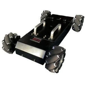 MC200 Robot Car Chassis 4WD RC Car Assembled Mecanum Wheel with Encoding Disk