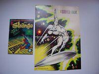"STRANGE , N° 118 avec Poster détaché "" Surfer "" , Marvel , LUG , 1979 , TBE"