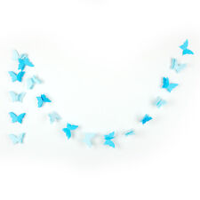 Nice Paper Garland Wedding Butterfly Hanging Party Banner 3D Decor Birthday Baby