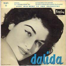 "DALIDA ""MIGUEL"" 50'S EP  BARCLAY 70 071"