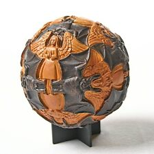 Sphere Angels and Devils Tessellation Round Orb Paperweight by Escher 4.5H