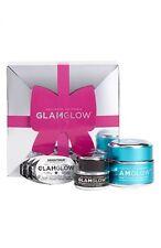 GLAMGLOW  3 pcs Gift Set~ Thirstymud 50g ~, Brightmu 15g ~ Youthmud 1g x 3 ~ NEW