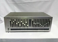 TECHNICS - stereo frequency equalizer mod. SH-8020 - FUNZIONANTE