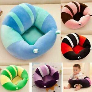 Plüsch Weichem Unterstützung Sessel Sitzkissen Sofa Sitzsack Kissen Baby 6Monat