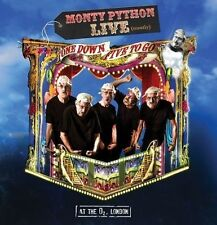 Monty Python Live One Down Five to Go Deluxe Edition DVD Blu-ray 2cd in a Book