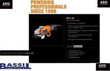 AEG Winkelschleifer WS 11-125 1100W