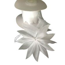 WHITE Star PULL JORDAN ALMONDS CANDY BOW Ribbon decorations wedding favors -