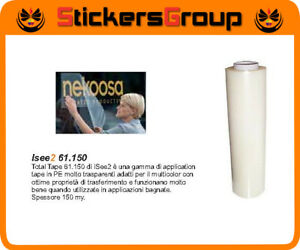 ROTOLO APPLICATION TAPE H 30 CM | H 100 CM LUNGHEZZA 100 MT