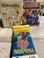 2020 Topps Baseball Repack! Perfect Stocking Stuffer-SEE DESCRIPTION🎄⚾️
