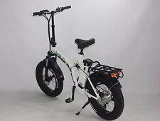 Green Bike USA GB750 fat tire folding Electric Bicycle 8FUN 750W MOTOR+48V/15.6A