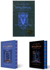 NEW Harry Potter Ravenclaw Editions 3 Hardcover Books Set - Philosopher, Chamber