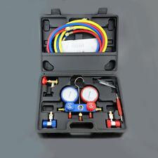 AC gauge Refrigeration Kit Manifold Gauge Set Air R12 R22 R134a 410a R404z 80MM