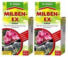 Oleanderhof® Sparset: 2 x DR. STÄHLER Kiron Milben-Ex, 30 ml + gratis Oleanderho