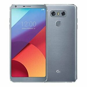 LG G6 32GB Factory Unlocked - Ice Platinum Smartphone AS993 32 GB 4K WiFi LTE