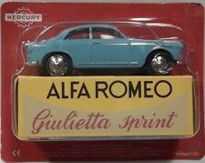 modellino MERCURY  HACHETTE - ALFA ROMEO GIULIETTA SPRINT scala 1/48