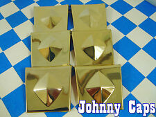 Baccarat Wheels Allure Gold Insert #N/A Wheel Center Cap USED Gold Inserts (6)