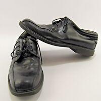 Nunn Bush Leather Men's Shoes Size 10.5 M Oxfords Marcell Black Comfort Gel