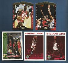 1998 UPPER DECK CHOICE BULLS MICHAEL JORDAN INSTANT WIN CARD #IW2