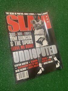Slam Magazine-September 2003 (Tim Duncan Cover)
