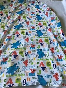 Baby Crib Sheet Fitted Bedding SESAME STREET Multicolor 2008