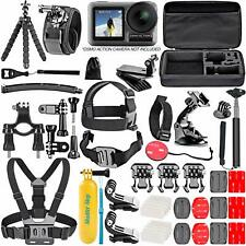 DJI Osmo Action 4K Camera 50 Piece Accessory Kit Action-Cam Bundle