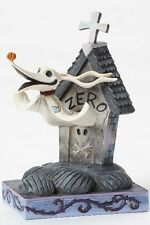 Disney Traditions The Nightmare Before Christmas Zero and Dog House Statue New