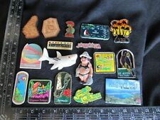 cRUISE CARIBBEAN  & Bermuda Souvenir Fridge Magnet Lot of 17