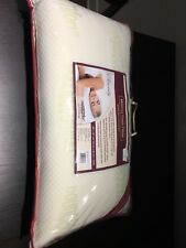 Bounce Comfort Serenity Antimicrobial Memory Foam Bed Pillow, 28 by 16-Inch