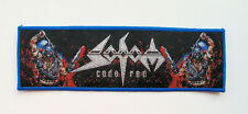 SODOM - Code Red [blue] - Woven Patch / Kreator Destruction Toxic Holocaust