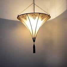 Arabische Lampe Orientalische Leuchte Marokko Deckenlampe Orient Lederlampe XL