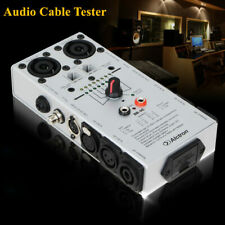 Multi-function Audio Cable Tester Tool Wire Line Detector for Home Sound System