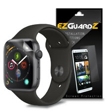 2X EZguardz Clear Screen Protector Shield HD 2X For Apple Watch 44mm