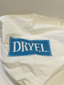 Dryel Dryer Bag Fabric Vintage Old Style Zipper