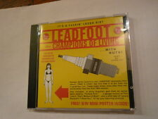 LEADFOOT Champions Of Living - CORROSION OF CONFORMITY - CD 2001
