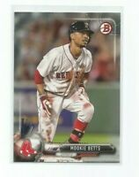 MOOKIE BETTS (Boston Red Sox) 2017 BOWMAN BASEBALL CARD #6