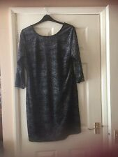 Sparkle Scoop Back  Dress size 22 new .
