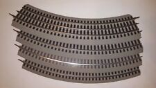 Lionel O36 FasTrack O Gauge Train Track ADD ON Standard Curved 4 Pieces 6-12015