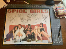 Rare SPICE GIRLS 1997 Original Classic Pop Music  Officially Licensed Signed