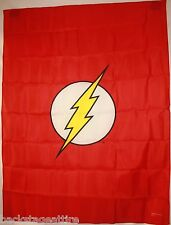 "DC COMIC THE FLASH LIGHTNING LOGO 29""X40"" Fabric Cloth Poster Flag Tapestry-New!"
