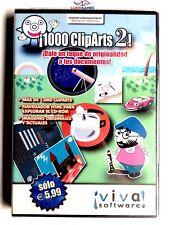1000 Cliparts 2 PAL/SPA Precintado Sealed Brand New Videojuego PC Retro