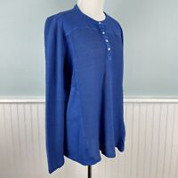 Size XL Soft Surroundings Thermal Waffle Knit Top Shirt Blouse NWT Extra Large